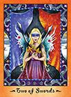 faerie-tarot - Two of Swords