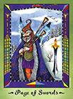 faerie-tarot - Page of Swords