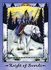faerie-tarot - Knight of Swords
