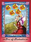 faerie-tarot - Five of Coins