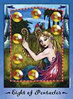 faerie-tarot - Eight of Coins