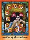 faerie-tarot - Nine of Coins