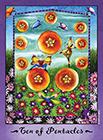 faerie-tarot - Ten of Coins
