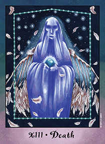 Death Tarot Card - Faerie Tarot Deck