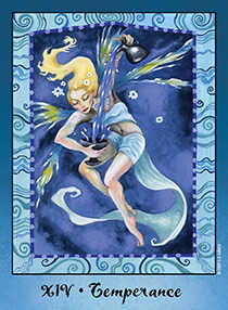 The Guide Tarot Card - Faerie Tarot Deck