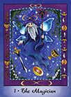 The Magician Tarot card in Faerie Tarot Tarot deck
