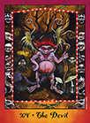 The Devil Tarot card in Faerie Tarot Tarot deck