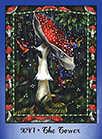 The Tower Tarot card in Faerie Tarot Tarot deck