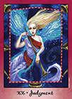 Judgement Tarot card in Faerie Tarot deck