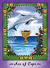 Ace of Cups Tarot card in Faerie Tarot Tarot deck
