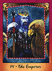 The Emperor Tarot card in Faerie Tarot deck