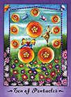 Ten of Coins Tarot card in Faerie Tarot Tarot deck