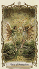 fantastical-creatures - Two of Pentacles