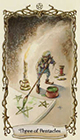 fantastical-creatures - Three of Pentacles