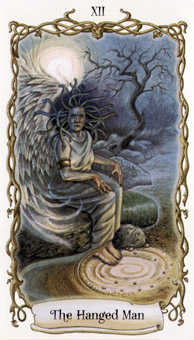 The Hanged Man Tarot Card - Fantastical Creatures Tarot Deck