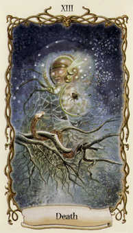 The Close Tarot Card - Fantastical Creatures Tarot Deck