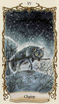 Temptation Tarot Card - Fantastical Creatures Tarot Deck