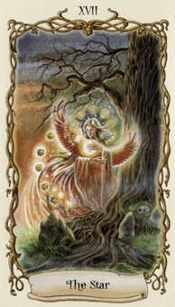The Star Tarot Card - Fantastical Creatures Tarot Deck