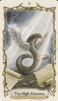 Junon Tarot Card - Fantastical Creatures Tarot Deck