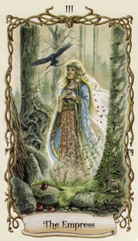 The Empress Tarot Card - Fantastical Creatures Tarot Deck