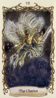 The Chariot Tarot Card - Fantastical Creatures Tarot Deck