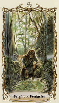 Earth Warrior Tarot Card - Fantastical Creatures Tarot Deck