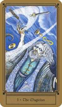 The Magus Tarot Card - Fantastical Tarot Deck