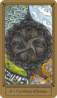 Wheel of Fortune Tarot Card - Fantastical Tarot Deck