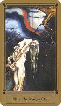 The Hanged Man Tarot Card - Fantastical Tarot Deck