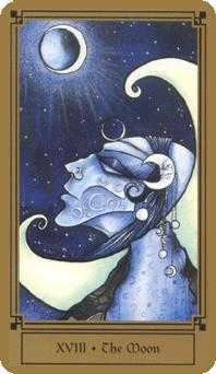 The Moon Tarot Card - Fantastical Tarot Deck