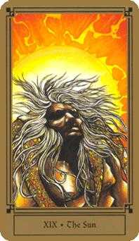 The Sun Tarot Card - Fantastical Tarot Deck