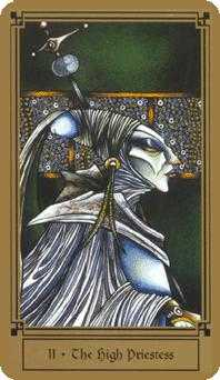 The High Priestess Tarot Card - Fantastical Tarot Deck