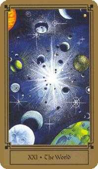 The Universe Tarot Card - Fantastical Tarot Deck