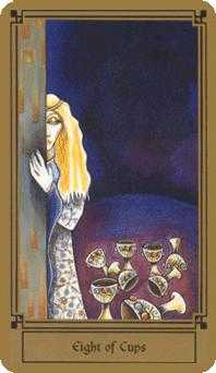 Eight of Cups Tarot Card - Fantastical Tarot Deck