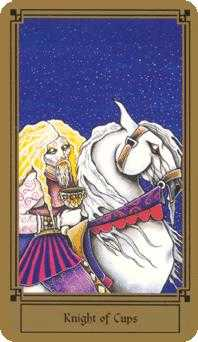 Cavalier of Cups Tarot Card - Fantastical Tarot Deck