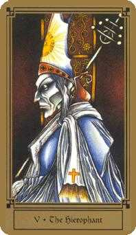 The High Priest Tarot Card - Fantastical Tarot Deck