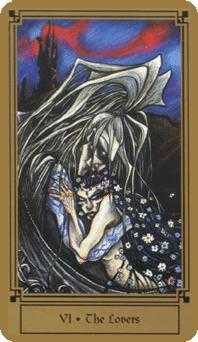 The Lovers Tarot Card - Fantastical Tarot Deck