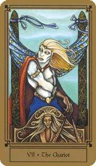 The Chariot Tarot Card - Fantastical Tarot Deck