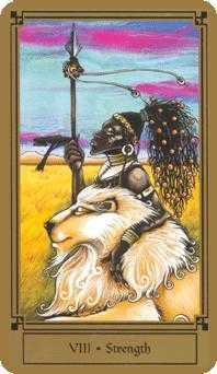 Fortitude Tarot Card - Fantastical Tarot Deck
