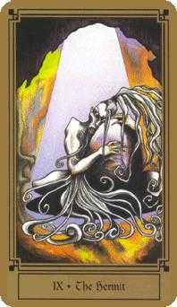 The Hermit Tarot Card - Fantastical Tarot Deck
