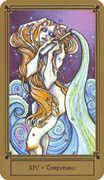Temperance Tarot card in Fantastical Tarot Tarot deck