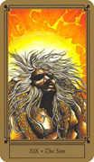 The Sun Tarot card in Fantastical Tarot Tarot deck