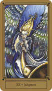 Judgement Tarot card in Fantastical Tarot Tarot deck