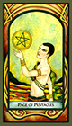 fenestra - Page of Pentacles