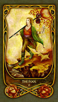 The Fool Tarot Card - Fenestra Tarot Deck