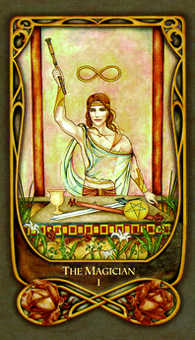 The Magician Tarot Card - Fenestra Tarot Deck