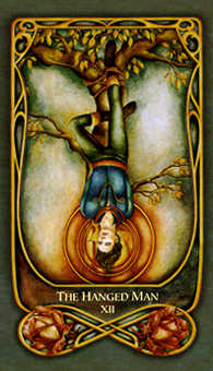 The Hanged Man Tarot Card - Fenestra Tarot Deck