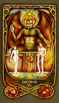 The Devil Tarot Card - Fenestra Tarot Deck