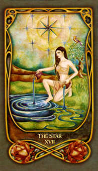 The Star Tarot Card - Fenestra Tarot Deck