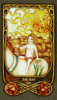 The Sun Tarot Card - Fenestra Tarot Deck